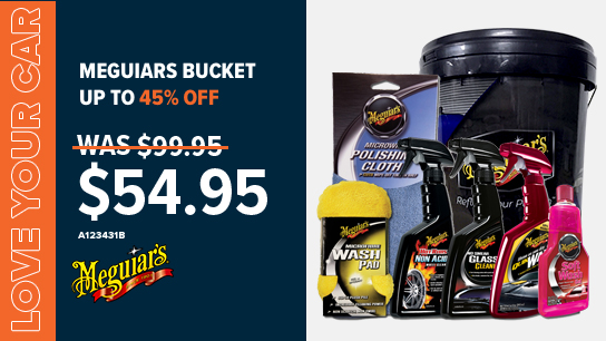 Up to 45% off Meguiar's