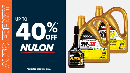 Up to 40% off Nulon