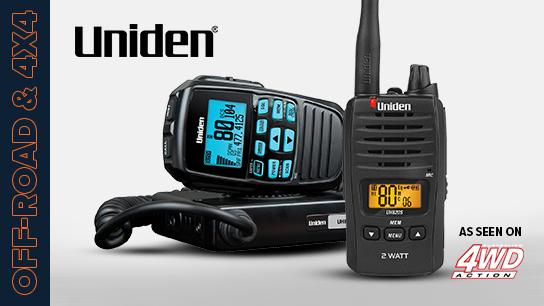 UNIDEN UHF Radios & Dashcams