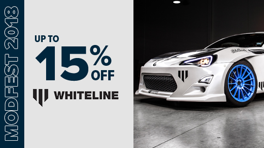 Up to 15% Off Whiteline